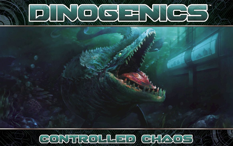 Kickstart This! #64: DinoGenics: Controlled Chaos & 2nd Printing