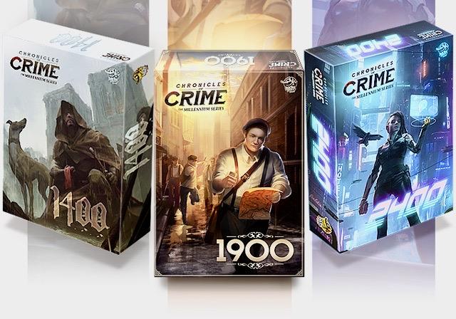 Kickstart This! #194: Chronicles of Crime – The Millennium Series