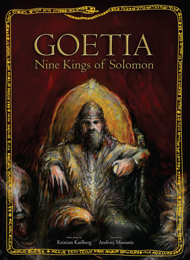 Kickstart This! #189: Goetia: Nine Kings of Solomon