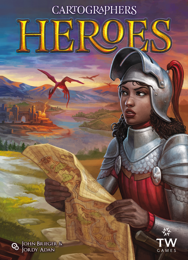 Kickstart This! #284:  Cartographers Heroes + 3 Map Pack Expansions