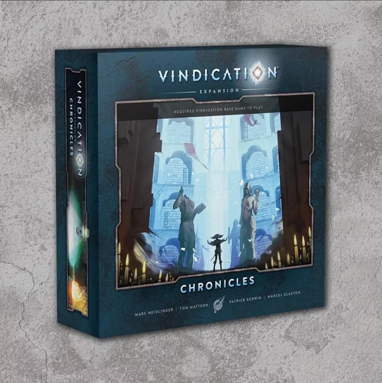 Kickstart This! #316: Vindication Board Game and Chronicles Expansion