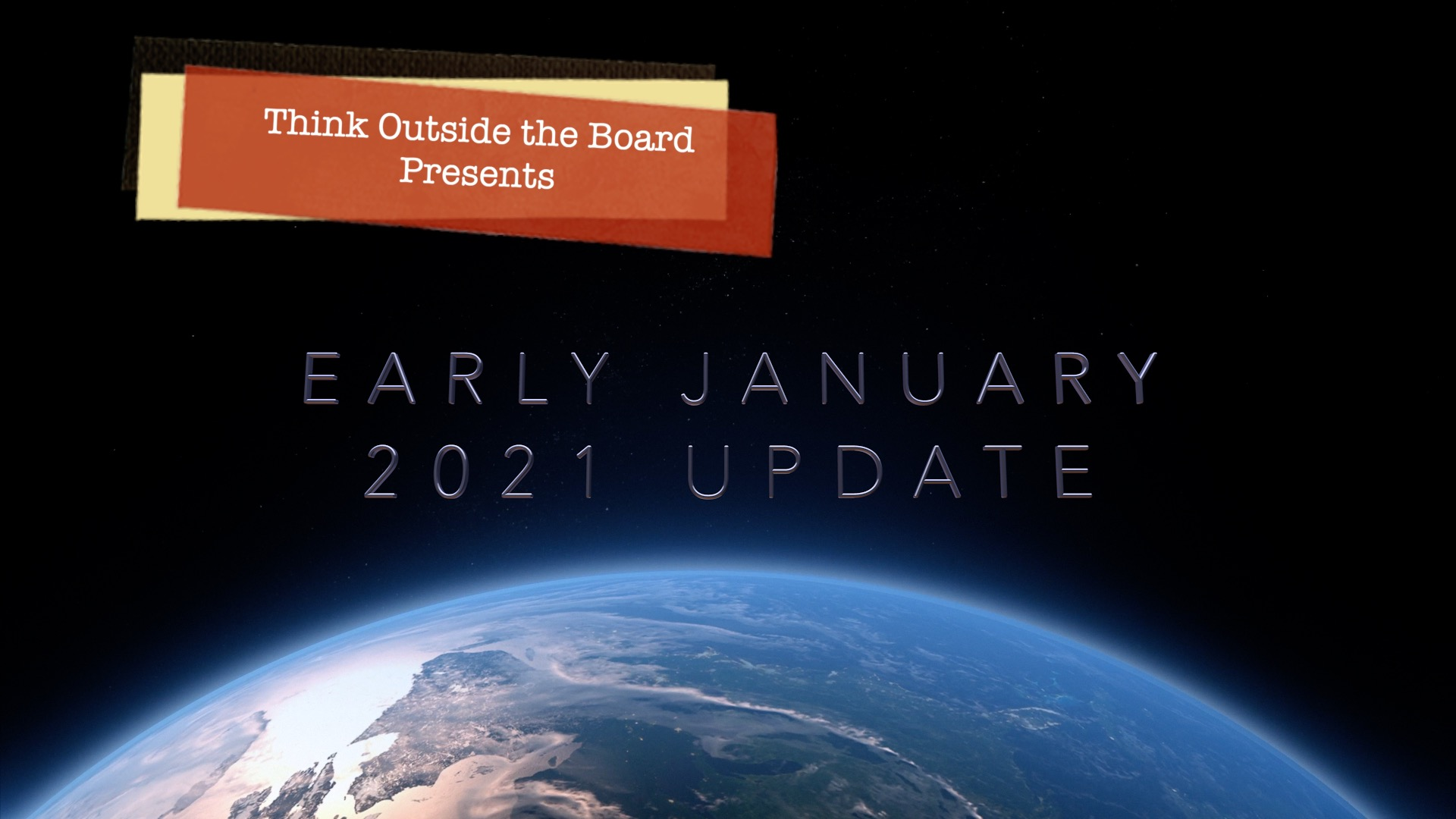 Early January 2021 Update