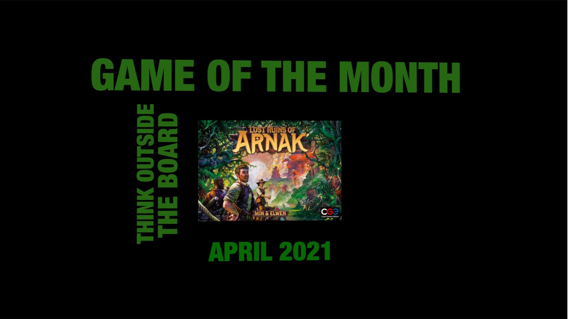 Game of the Month, April 2021